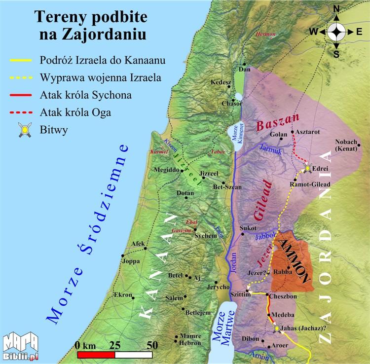 Tereny na Zajordaniu